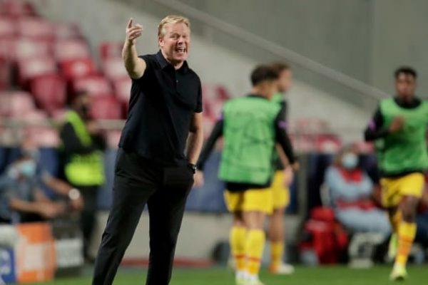 Patrick Kluivert has backed Ronald Koeman to coach Barcelona